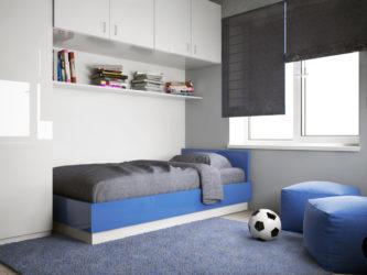 Детская комната для мальчика минимализм