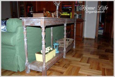 Консольный столик своими руками из балясин