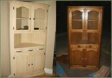 Как покрасить полированный шкаф без ошкуривания?