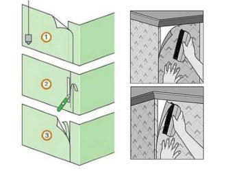Как клеить флизелиновые обои самостоятельно метровые?
