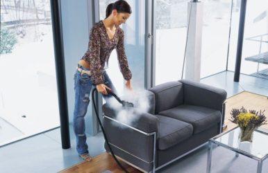 Сухая чистка мягкой мебели в домашних условиях