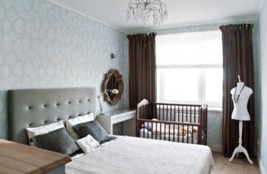 Где поставить детскую кроватку в спальне родителей?