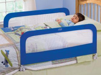 Как огородить кровать чтобы ребенок не упал?
