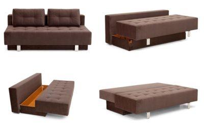 Что такое диван еврокнижка как раскладывается?