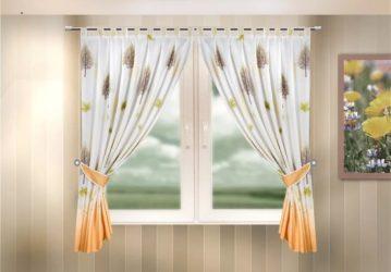 Какая штора подойдет для окна на кухне?