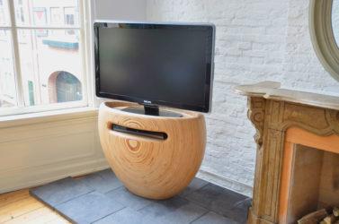 Подставка для телевизора из дерева своими руками