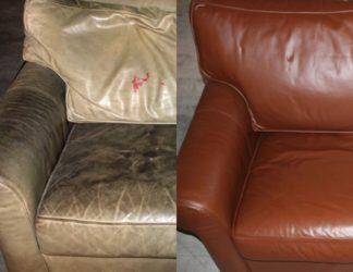 Потрескалась кожа на диване как восстановить?