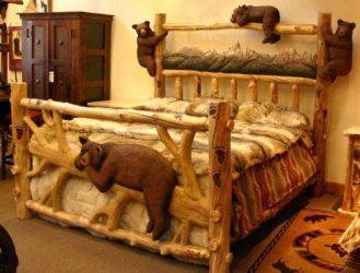Резные детские кроватки из дерева своими руками